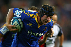 MAIN MAN: Andrew Hore has turned his fortunes around with the Highlanders. Photo / Getty Images