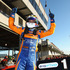 Will Davison celebrates after winning race one of round three. Photo / Getty Images