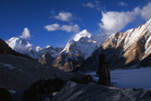Glaciers in the Karakoram range seem to be resisting global warming effects, say scientists.  Photo / Thinkstock