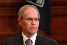 Auckland Mayor Len Brown