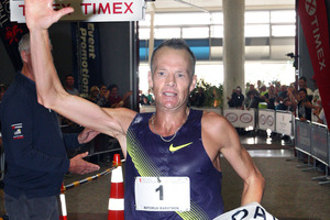 Favourite Dale Warrander is chasing his sixth Rotorua Marathon title. Picture / Ben Fraser
