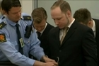 At the start of his trial, Norwegian killer Anders Breivik acknowledged killing 77 people in July 2011, but said he carried out the massacre in self-defense. He was mostly calm in court. His lawyers said he's anxious to prove he's not insane.