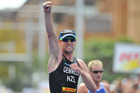 Kris Gemmell performed well at the weekend's triathlon in Sydney.