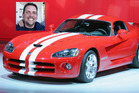 Trev's already bought a HSV ute but he's eyeing up a Dodge Viper. Photo / Supplied