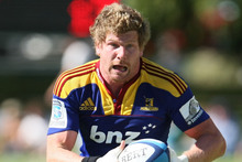 Adam Thomson of the Highlanders. Photo / Getty Images