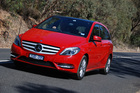 Mercedes-Benz's B-Class was designed to carry families in safety and comfort. Photo / Jacqui Madelin.