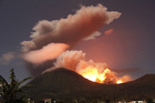 One of Indonesia's many volcanoes, Mount Lokon, put on a spectacular display of geothermal power last year. Photo / AP