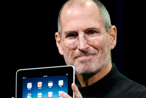 With products such as the iPad Steve Jobs has transformed the way we live and work. Photo / AP
