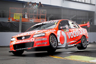 Defending series champion Jamie Whincup cold only manage 17th quickest. Photo / Christine Cornege