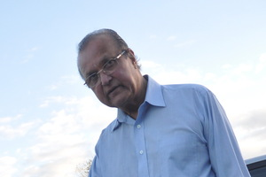 Dr Gurusinghe has to be chaperoned. Photo / Doug Hickman