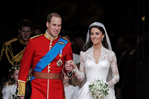 Some 2 billion people tuned in to watch the Duke and Duchess of Cambridge tie the knot almost a year ago. Photo / AP