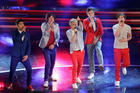 British pop band One Direction. Photo / AP