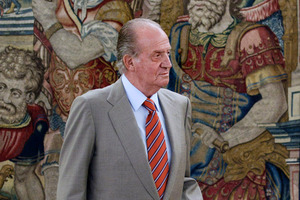 Spain's King Juan Carlos. Photo / AP