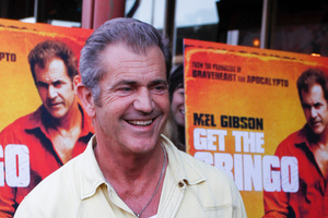 Mel Gibson. Photo / AP