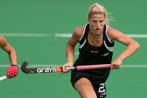 The Black Sticks beat the United States 3-2 at Lloyd Elsmore park today. Photo / File