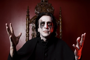 Jaz Coleman is proud to call himself a kiwi citizen.  Photo / Supplied