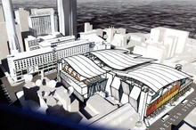 SkyCity's proposed national convention centre.