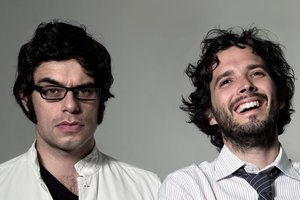 Jemaine Clement and Bret McKenzie. Photo / Supplied
