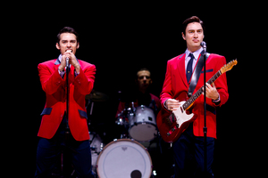 The international smash hit musical Jersey Boys. Photo / Dean Purcell