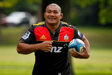 Chiefs player Sona Taumalolo. Photo / Christine Cornege