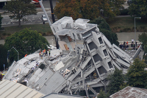 Aftershocks are still occurring in Christchurch 14 months after the large one that was devastating. Photo / Mark Mitchell