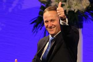 John Key knows SkyCity has the resources to get his convention centre plans off the ground. Photo / Greg Bowker