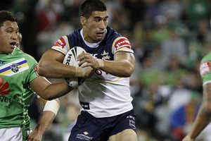 James Tamou. Photo / Getty Images.