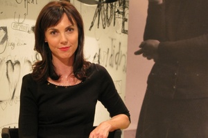 Emily Perkins, host of the TVNZ7's  The Good Word .