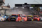 The start of the ITM400 in Hamilton today. Photo / Mark Hosburgh / Edge Photographics