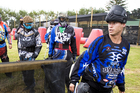 Get ready to Lock 'n' Load at Auckland Airport's new paintball venue. Photo / Dean Purcell