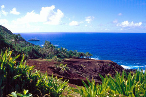 Pitcairn Island. Photo / Creative Commons image by Wikimedia user Makemake