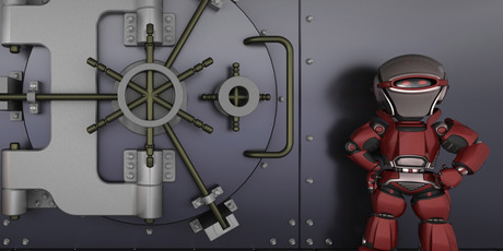 Robot guards - the way of the future. Photo / Thinkstock