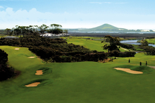 Northland's Carrington Resort is nestled within the trees overlooking a luxury championship golf course. Photo / Supplied