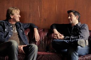 Cameron Bennett (left) and John Taite.  Photo / Ted Baghurst