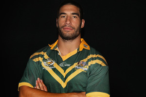 James Tamou will ditch the Kiwis. Photo / Getty Images