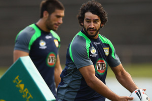Johnathan Thurston of the Kangaroos. Photo / Getty Images
