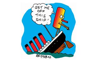 Cartoon / Peter Bromhead