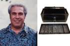 Herman Curry and the missing cash box. Photo / NZ Police