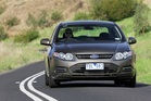 Ford's EcoBoost Falcon is a surprising package that's far more nimble as its six-cylinder stablemate. Photo / Supplied