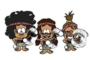 Cartoon characters Hinepounamu, Little Hinemoa and Hinewehi may feature on a screen near you.