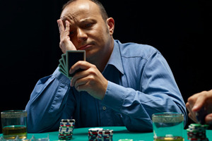 One of the biggest poker myths is the whole 'poker face' thing. Photo / Thinkstock