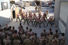 New Zealand SAS handing over to Norwegian troops in Afghanistan. Photo / supplied