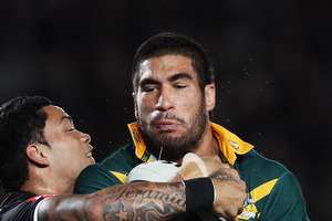 James Tamou. Photo / Getty Images
