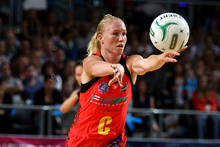 Laura Langman of the Magic during the ANZ Championship match between the Melbourne Vixens and the Waikato Bay of Plenty Magic.  Photo / Getty Images