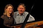 Emma Sayers and Richard Mapp (pianists) opened the NZ International Piano Festival. Photo / Supplied