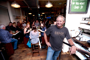 Al Brown owner of the Depot.  Photo / Chris Loufte