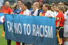 Sporting bodies around the world are taking a stand against racism. Photo / DAPD