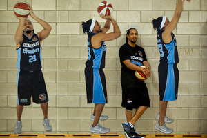NZ Breakers guard CJ Bruton. Photo / Brett Phibbs