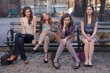 The new American TV series is seen as a recession-era answer to Sex and the City. Photo / Supplied