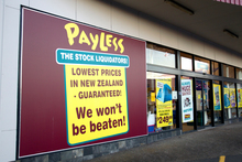 Greater competition has pushed 11 Payless stores into receivership. Photo / Steven McNicholl